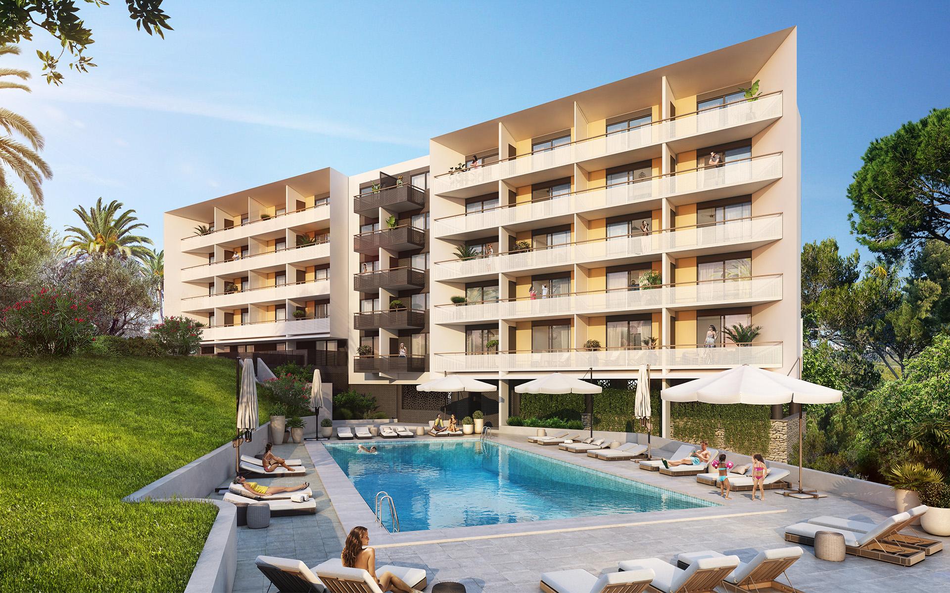 Appartement neuf Cannes en déficit foncier - Stone & Living