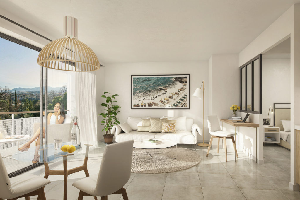 Renovated apartments for sale  in Cannes l Cannes Horizons