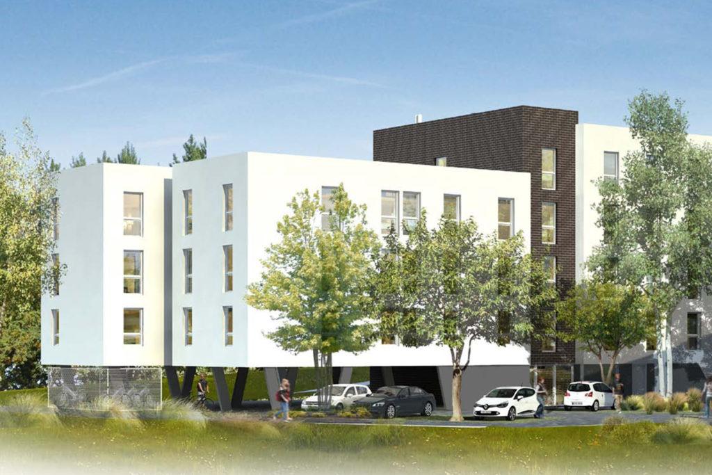 Residence étudiante neuve en Nue Propriété Grand Lyon - Stone & Living
