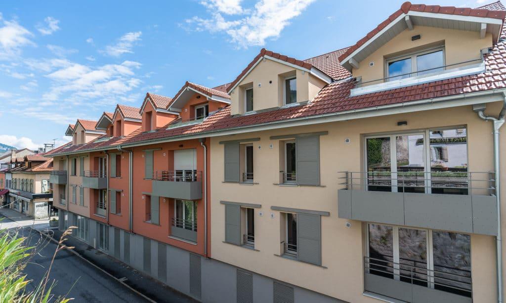Villa MontBlanc appartements neufs sallanches l stone & living