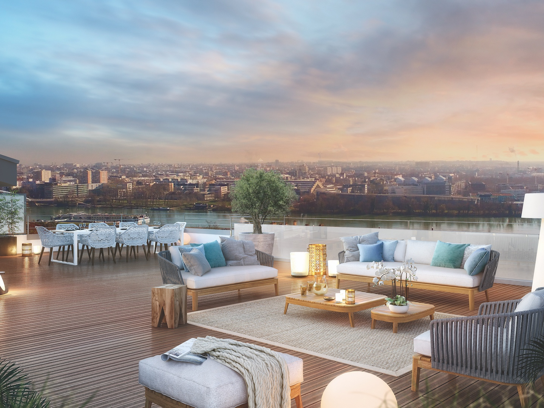 Appartement neuf toit terrasse La Mulatiere Lyon l Stone & Living