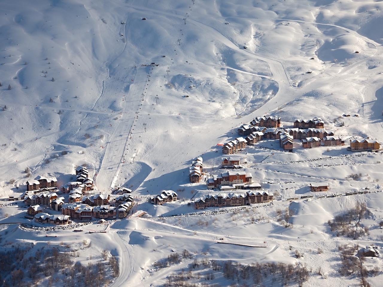 New development in ski resort