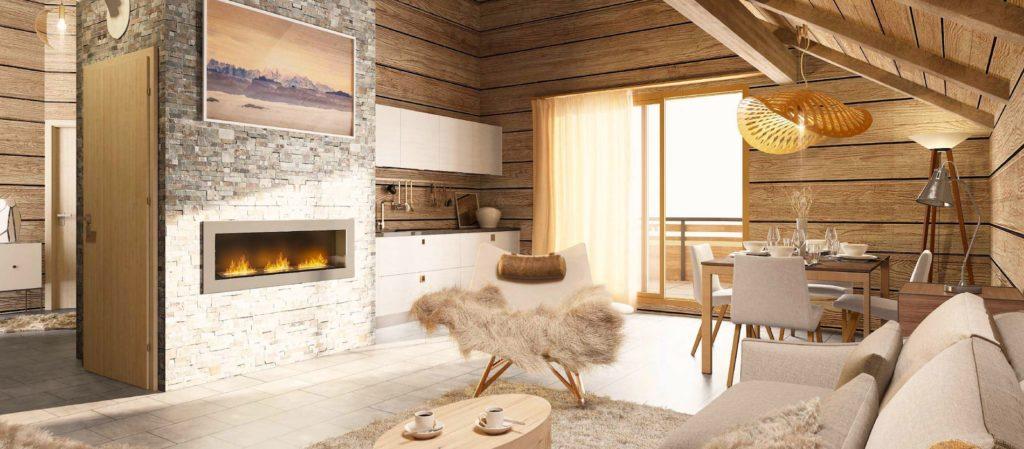 New apartment for sale in ski resort Valmeinier 1800