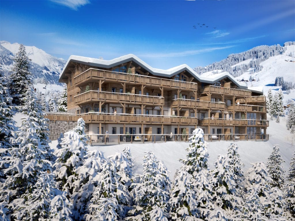 New apartments in Crest Voland ski resort l stone and living