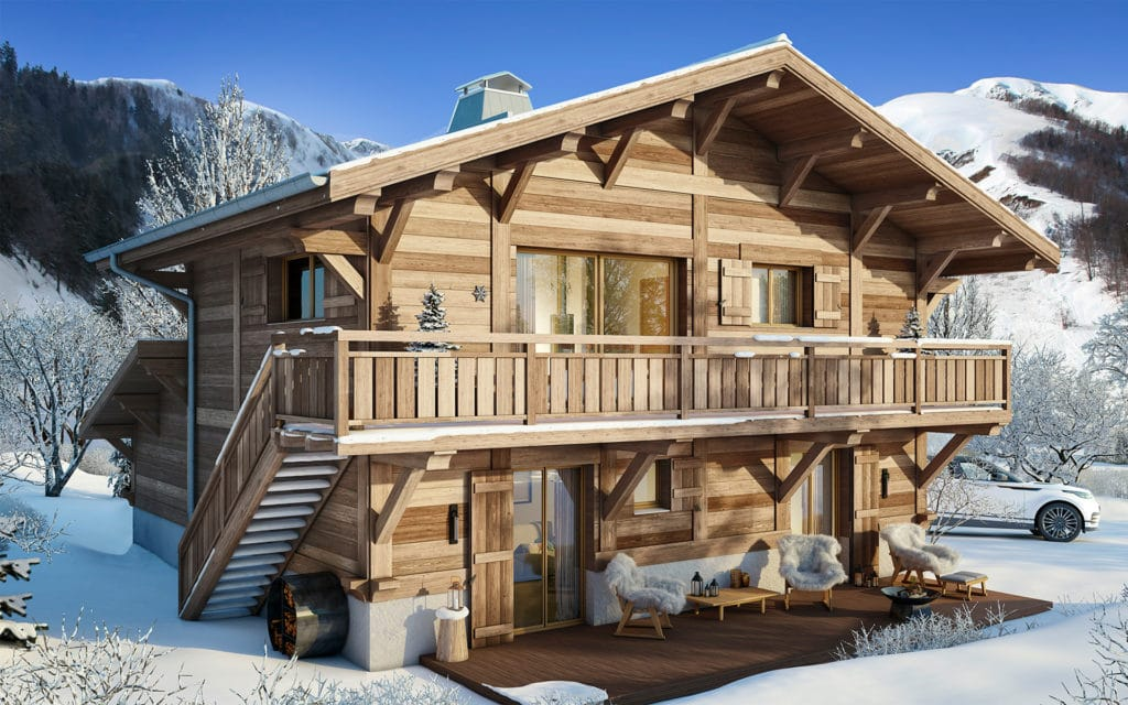 New ski chalet les contamines-Montjoie French Alps l Stone & Living