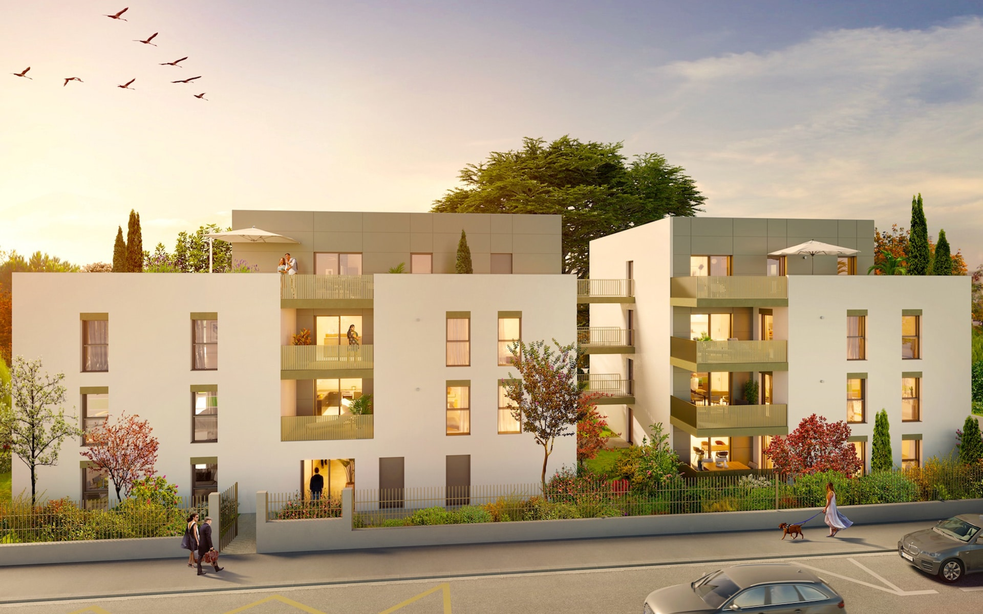 Appartement neuf Sainte-Foy-lès-Lyon l Stone & Living
