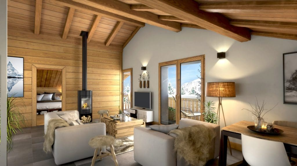 Immobilier neuf Combloux l Stone and Living