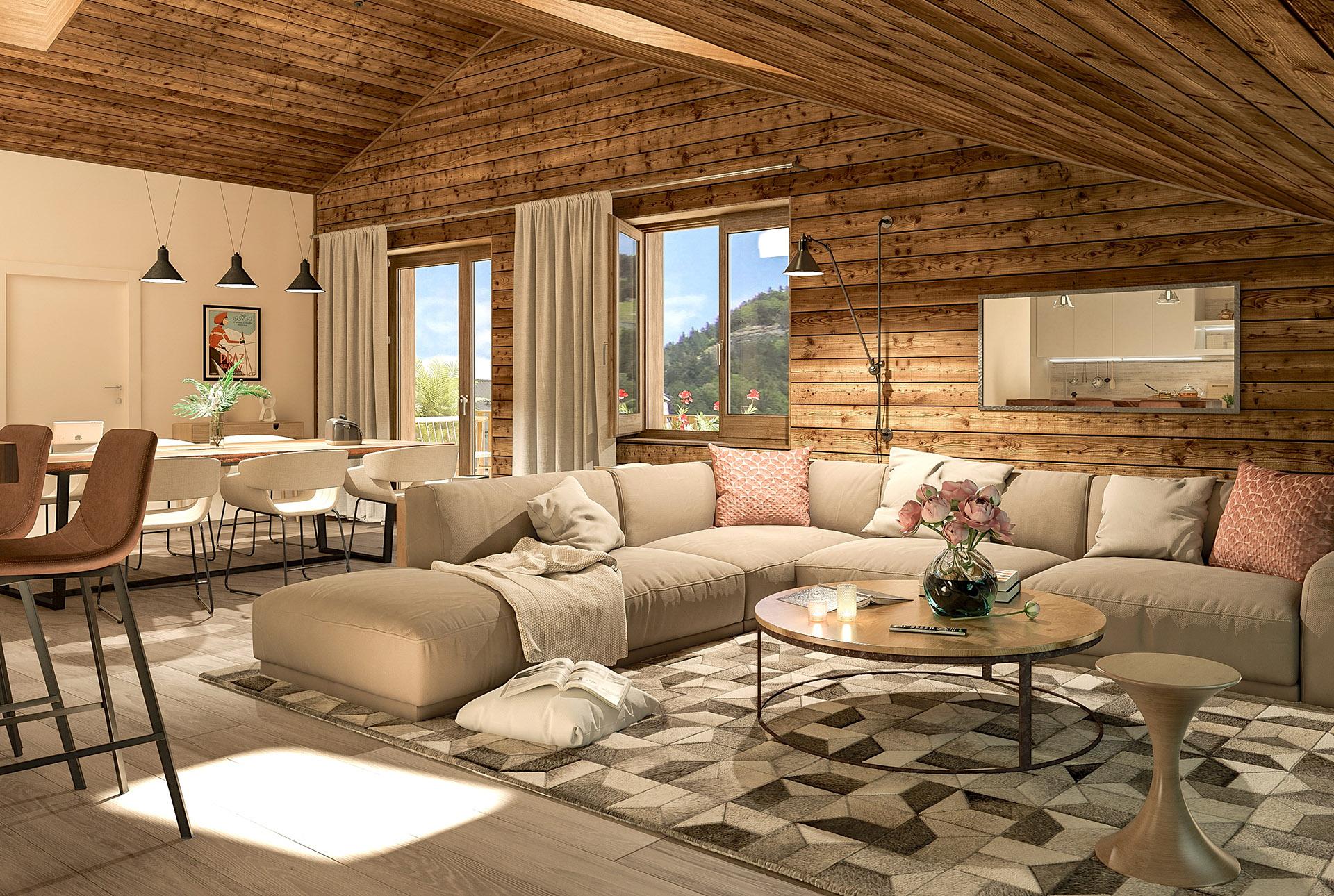 Appartement neuf Praz-sur-Arly l Stone & Living
