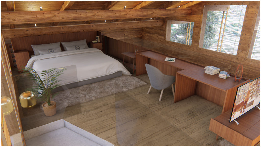 Chalet neuf Combloux l stone and living
