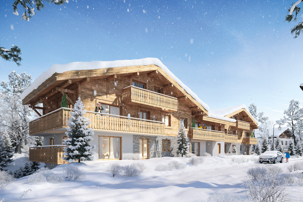 New apartments Les Gets Cottage Alpin l Stone and living